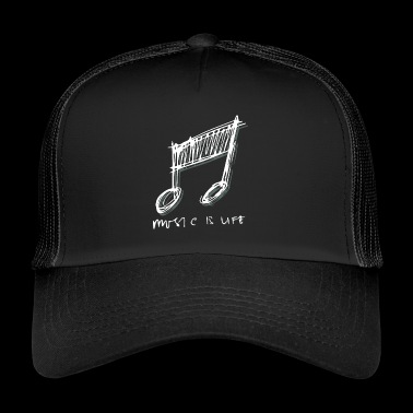 Musique Musique Instruments Passion - Trucker Cap