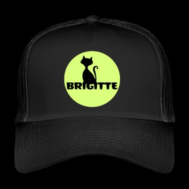 Brigitte First name name day gift - Trucker Cap
