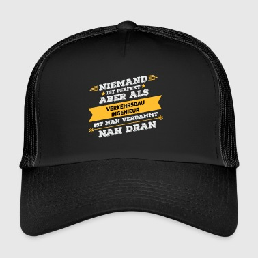 Transportation engineer profession - Trucker Cap