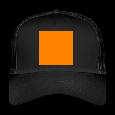 Quadrat orange - Trucker Cap