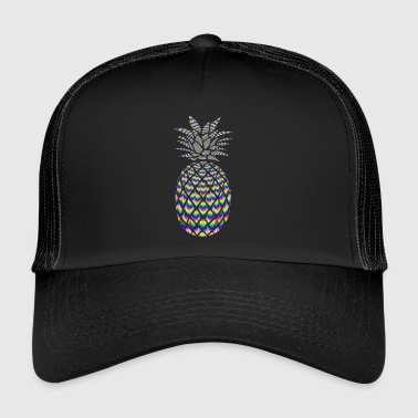 PINEAPPLE PSYCHEDELISCHES - Trucker Cap