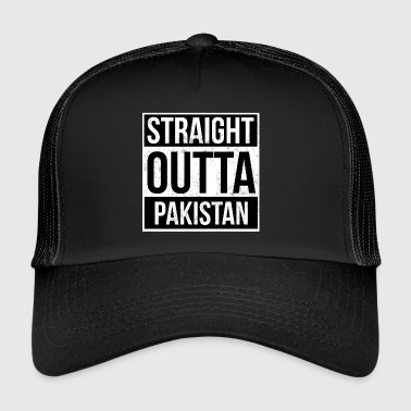 Straight Outta Pakistan! | Best country - Trucker Cap