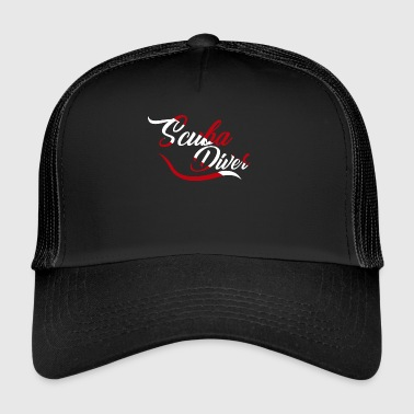Scuba diver Sign - Trucker Cap