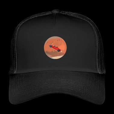 Space Car / Elon Musk, SpaceX, Tesla - Trucker Cap