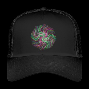 abstract - Trucker Cap