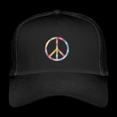 Hippie Peace - Trucker Cap