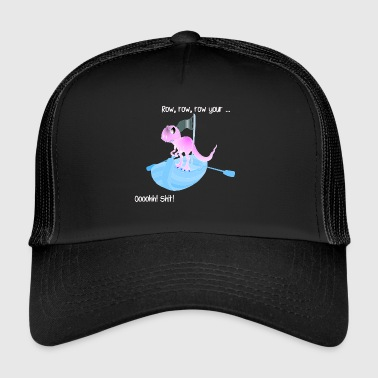 Dino on board! - Trucker Cap