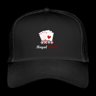 Reale poker flush - Trucker Cap