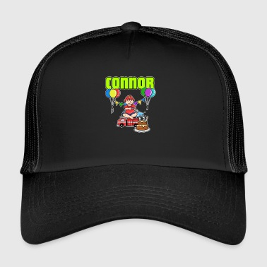 Fire Department Connor Gift - Trucker Cap