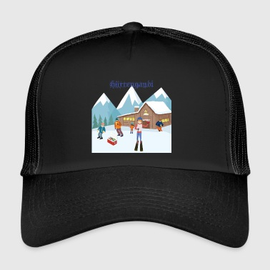 Hüttengaudi Aprés Ski Party Wintershirt - Trucker Cap