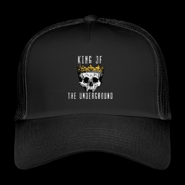 King of the Underground czaszki pomysł na prezent - Trucker Cap