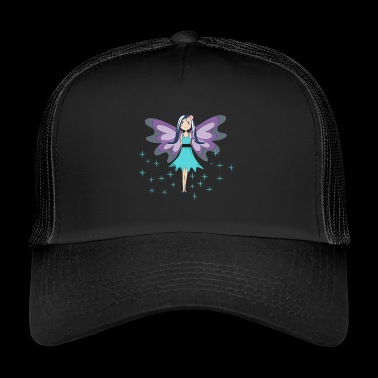 blue fairy mascot - Trucker Cap