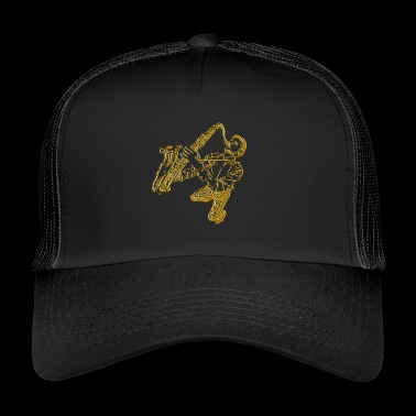 Stylish saxophonist - Trucker Cap