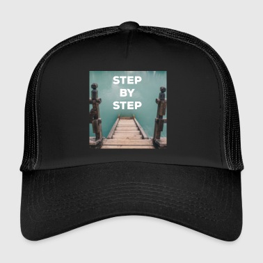 STEP BY STEP quote - Quote - Trucker Cap