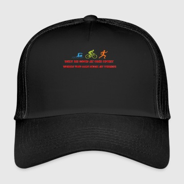 WHY BE GOOD AT ONE SPORT... - Trucker Cap