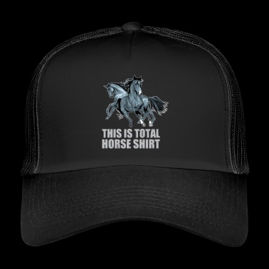 Horses gift idea equitation - Trucker Cap