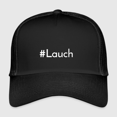 Lauch: #Lauch [White Edition] - Trucker Cap