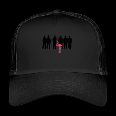 FLAMINGO - Trucker Cap