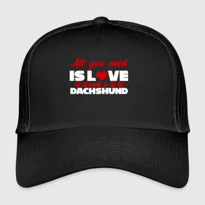 Bassotto / Bassotto: All You Need Is Love And A - Trucker Cap