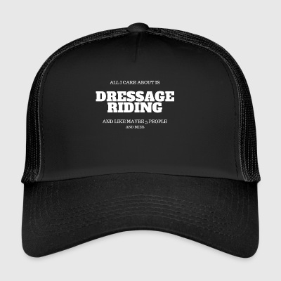 dressage riding beer - Trucker Cap