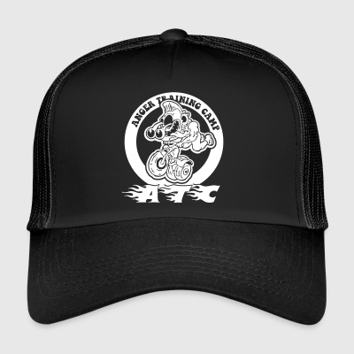 anger traning camp - Trucker Cap