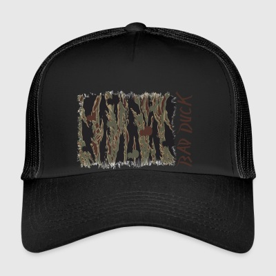 Bad Duck camo # 2 - Trucker Cap