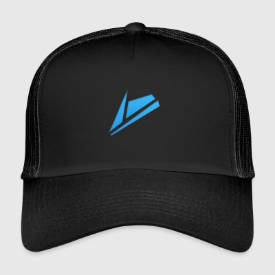 blue design - Trucker Cap