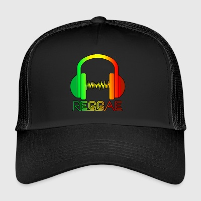 Reggae Music - Trucker Cap
