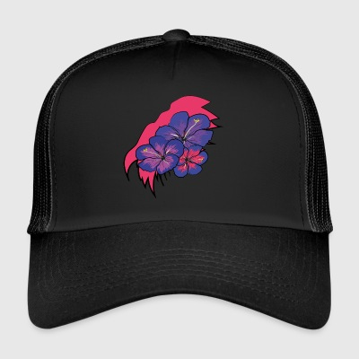 Hawaii crack kukkia - Trucker Cap