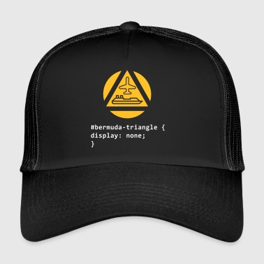 The Bermuda Triangle - Trucker Cap