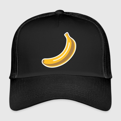 Banana Graffiti fruits Rétro singe Street Art Pop Art - Trucker Cap