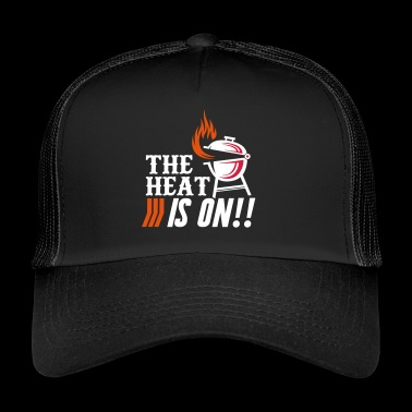 The Heat is on Barbecue BBQ Grill - Trucker Cap