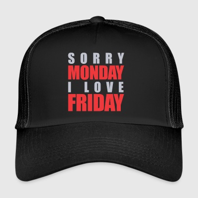 Lundi vs Vendredi - Trucker Cap