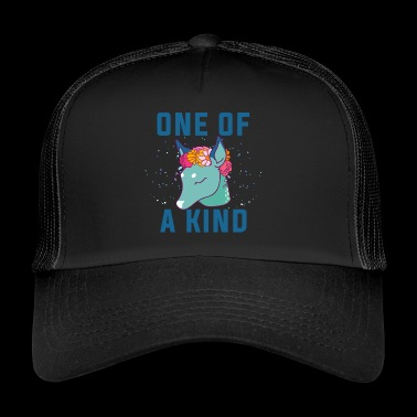 En av en slags.Unique Dow.Magical Gifts.Deer. Føll - Trucker Cap