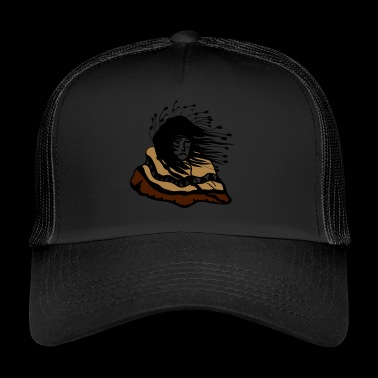 Indian robe America gift idea Native - Trucker Cap