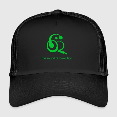 The sound of revolution - Trucker Cap