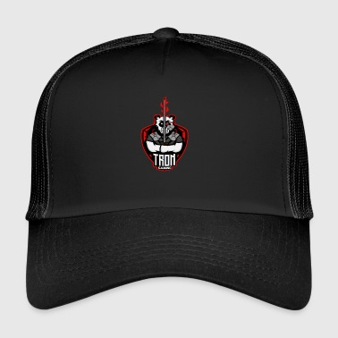 Tron Gaming Logo Transparent - Trucker Cap