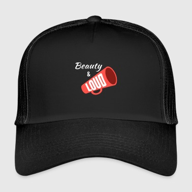 Beauty & Loud - Cheerleading - Trucker Cap