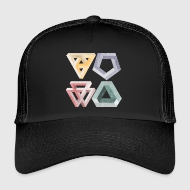 illusioni ottiche - Trucker Cap