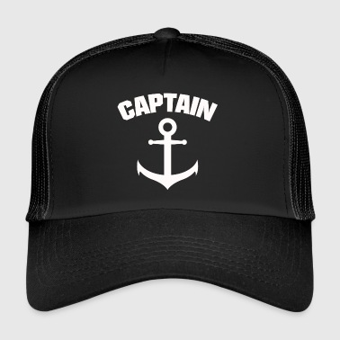 CAPTAIN ANCHOR SHIRT - Trucker Cap