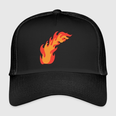 flame - Trucker Cap