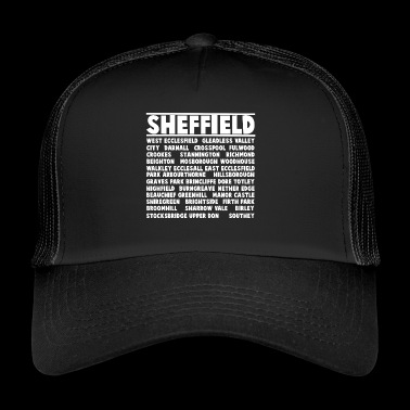 Sheffield City (bianco) - Trucker Cap