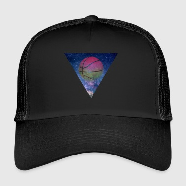 GALAXY BASKETBALL BALLER GIFT - Trucker Cap