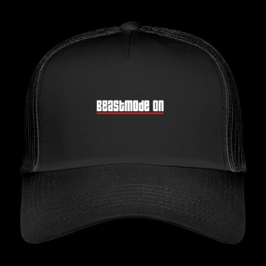 beastmode on gym training workout - Trucker Cap