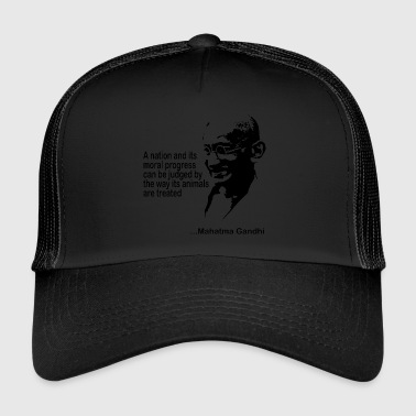 Gandhi Animal Rights - Trucker Cap