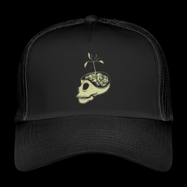Söpö Skulls Think Green - Trucker Cap