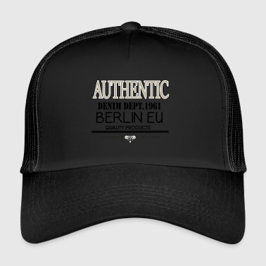 AUTHENTIC Berlin EU - Trucker Cap