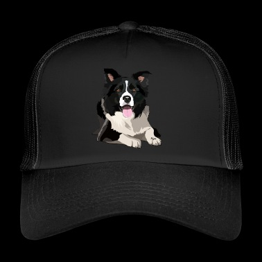 BORDER COLLIE by NYA - Trucker Cap