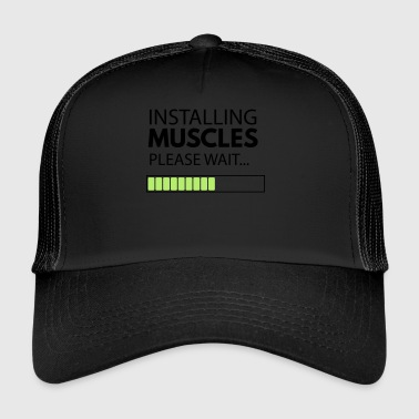 muscle_man - Trucker Cap