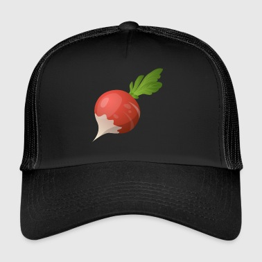 Delicious radishes - Trucker Cap